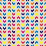 Aztec Chevron nahtlose bunte Vektor-Muster, Textur oder Hintergrund mit Zick-Zack-Streifen. Thanksgiving-Hintergrund, Hintergrundbilder oder Website-Design-element — Stockvektor