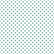 Seamless vector pattern, texture or background with mint,blue or dark green polka dots on white background for web design or desktop wallpaper — Stock Vector