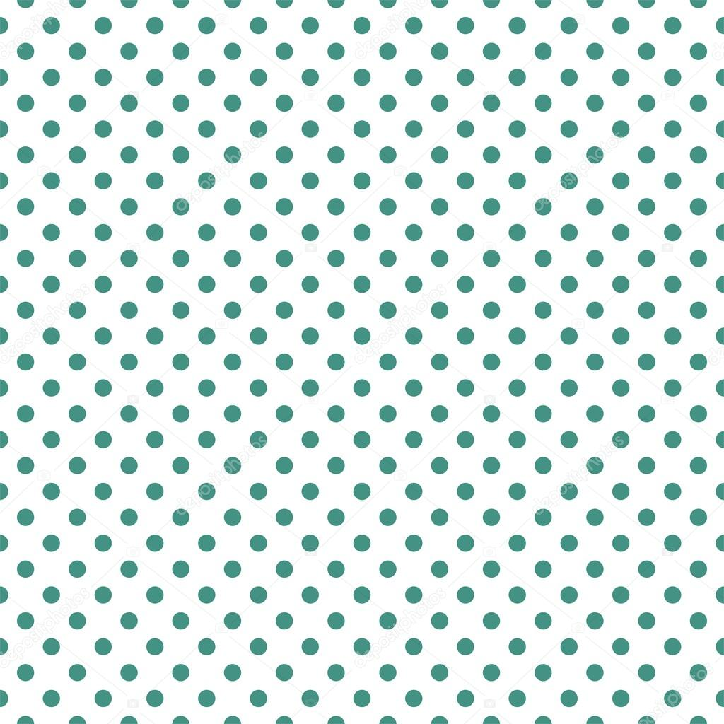 Mint Green Polka Dot Background