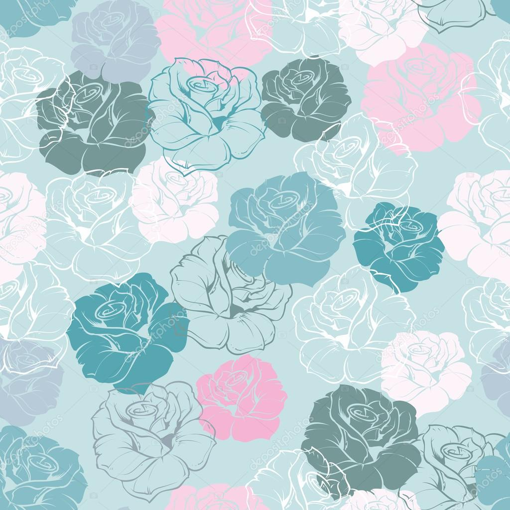 floral vector pattern ...