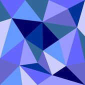 Triangle vector background or seamless grey, blue, white and navy pattern. Flat surface wrapping geometric mosaic for wallpaper or halloween website design — Vector de stock