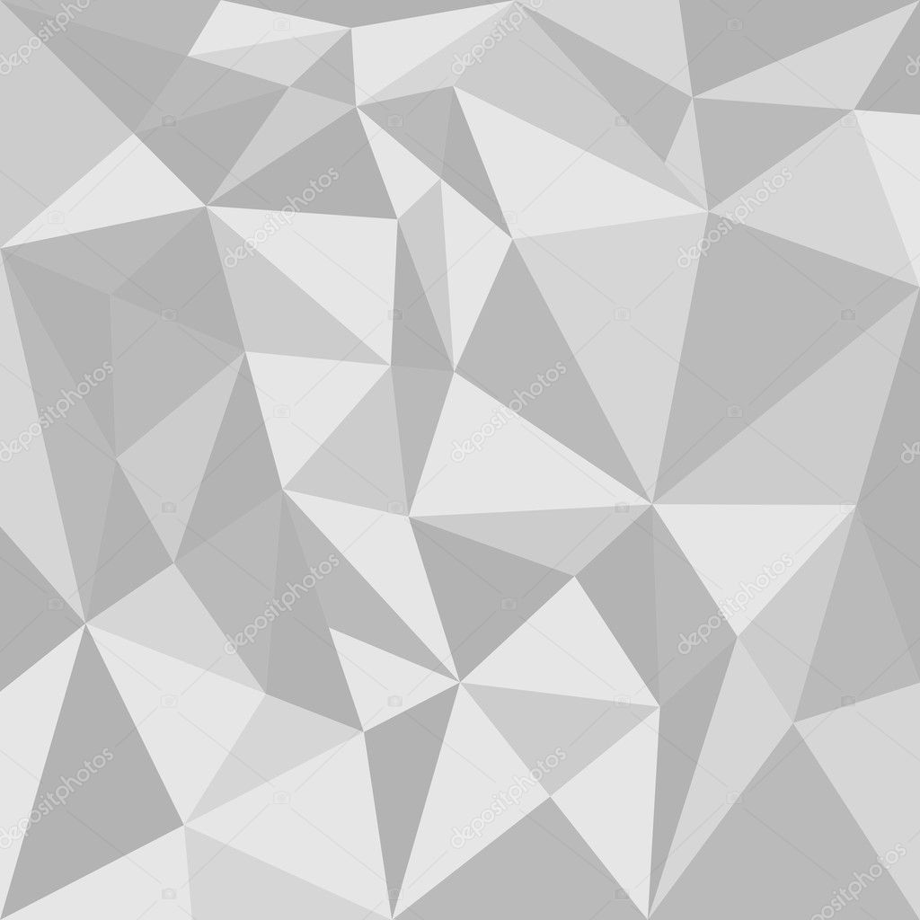 Grey Triangle Vector Background Or Seamless Pattern