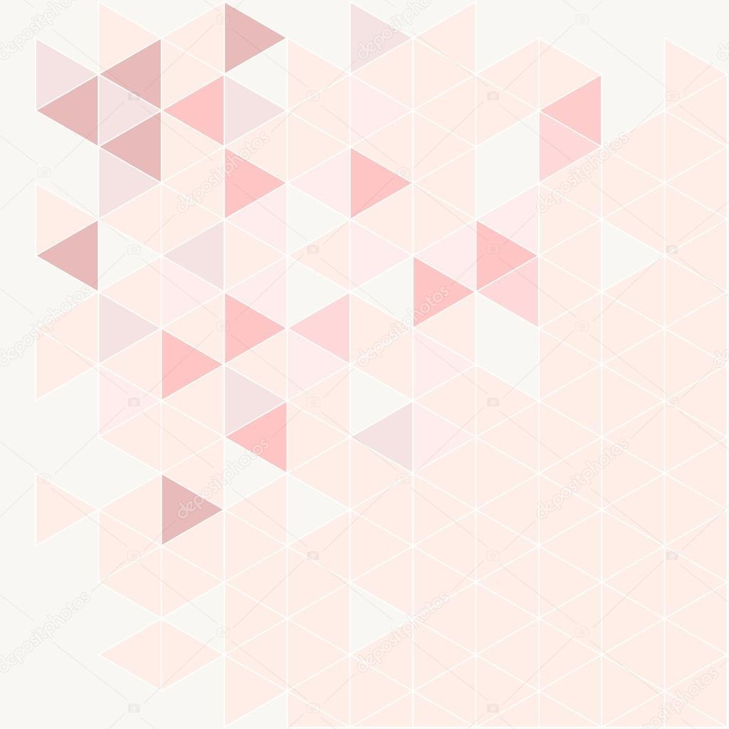 fond de vecteur moderne de triangle rose  gris et violet