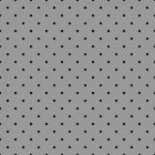 Seamless vector black and grey pattern or background with polka dots. For desktop wallpaper, decoration and tile website design. — Stock Vector
