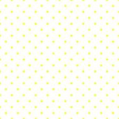 Seamless vector pattern with tile little sunny yellow polka dots on white background. — Stock Vector