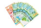 Kazakh money — Stock Photo