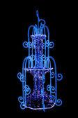Luminous fountain. — Stock Photo