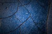 Blue background with many cracks — Stock Photo