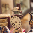 Stock Photo: Old style objects in showcase at Toledo, Spain