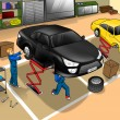 automobile repair shop — Stock Photo