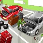 Automobile Repair Shop — Stock Photo #13442408