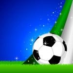 Italy Soccer — Stock Vector