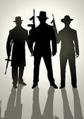 Gangsters — Vector de stock