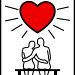 Couples in Love — Stock Vector #15595555