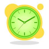 Klocka — Stockvektor