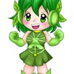 Chibi Super-heroine — Stock Photo