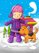 Wintertime — Stockfoto