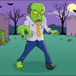 Zombie - Stock Vector