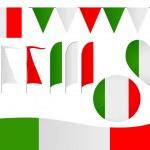 Italy Insignia — Stock Vector #25823675