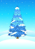 Wintertime — Stock Vector