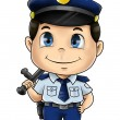 Stock Photo: Policeman