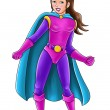 Superheroine — Stock Photo