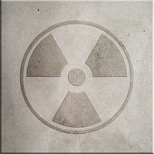 Radiation Symbol — Stockfoto