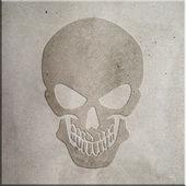 Crâne de béton — Photo