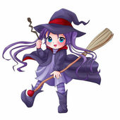 Pretty Witch — Stock Photo