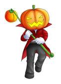 Pumpkin Head — Stockfoto