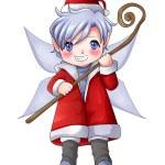 Christmas Pixie — Stock Photo #38769477