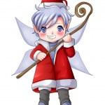 Christmas Pixie — Stock Photo