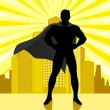 Superhero — Stock Vector