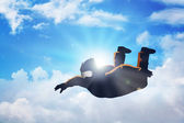 Sky Diving — Stock Photo