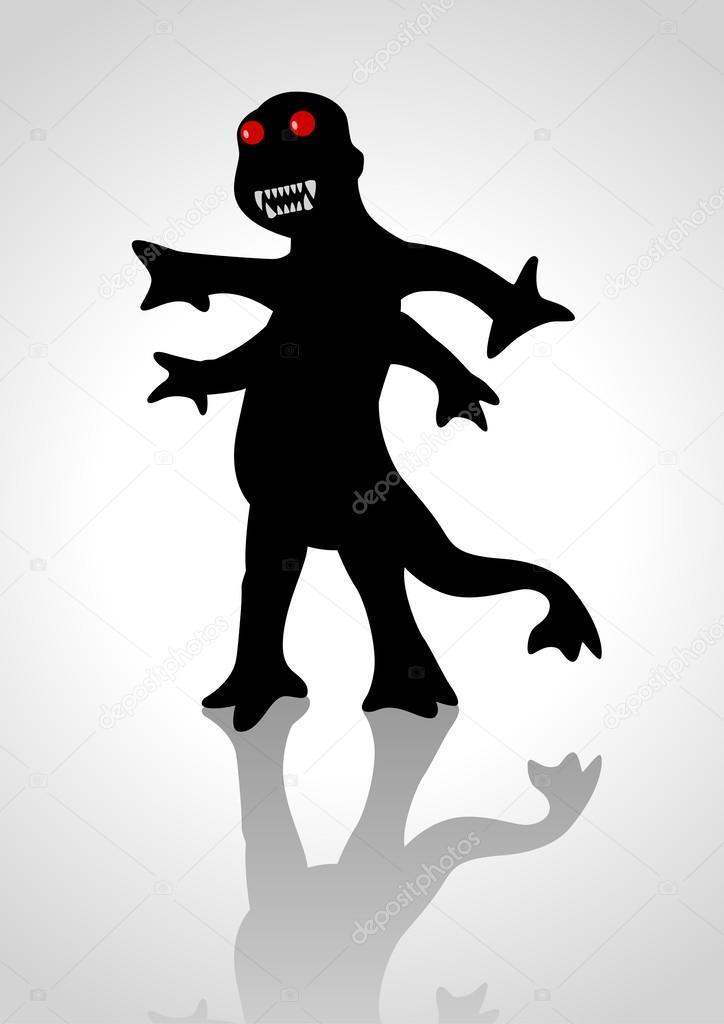 奇怪的动物 — 图库矢量图像08