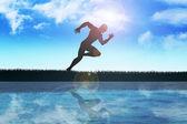 спринтер — Стоковое фото
