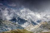Mountain cloudscape — Stock Photo