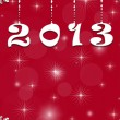 New Year 2013 background — Stock Photo