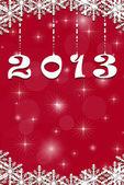Nytt år 2013 bakgrund — Stockfoto