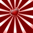 Royalty-Free Stock Photo: Abstract heart happy valentine day illustration