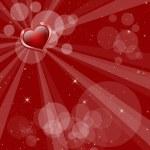 cartolina di San Valentino magica — Foto Stock