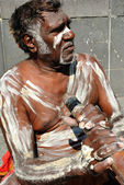 Aboriginal Man — Stock Photo