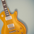 Stock Photo: Vintage Gold top guitar