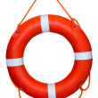 Life buoy isolated over a white background — Stock Photo #32044287