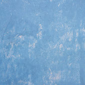 Blue grunge wall — Stock Photo