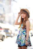 Beautiful asian girl — Stock fotografie
