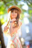 Linda menina asiática — Fotografia Stock