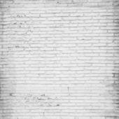 A white brick wall — Stock Photo