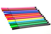 Set colorfull pens — Stock Photo