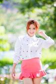 Belle fille asiatique — Photo